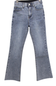 Dolcheong in the band Spandex Flared jeans