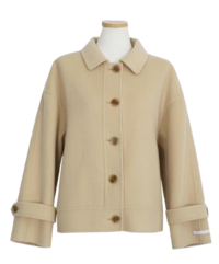 #AWABMADE:_ A handmade coat for you 7 shots wool90%/3color
