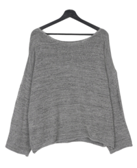 Pai Loose-fit See-through Long Sleeve Knitwear