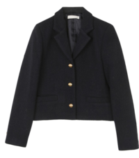 coin wool jacket