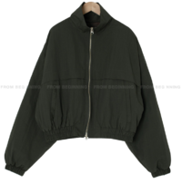 Daily quilted wind blouson Jacket
