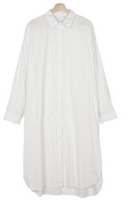 Big Size 55-99 Sherry Daily Overfit Long Shirt