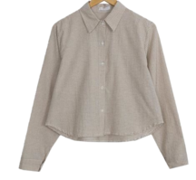 Two-Two Crop Check Shirt