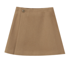 There Wool Skirt