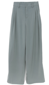 Try It Under To Pin Tuck Wide Slacks