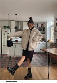 Soft and warm quilting Jacket