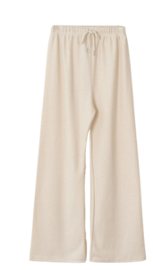 New 5% Daily Log Wide Knitwear Pants
