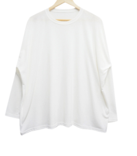 Fleece-lined daily T-shirt in Mystic