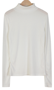 Mary Ribbed Turtleneck T