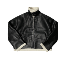 Lees Leather Shearling Jacket