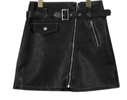 Letty Leather Skirt