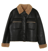 Page reversible Shearling